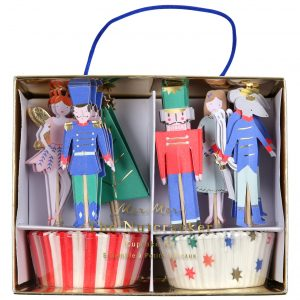 Nussknacker Cupcake Set