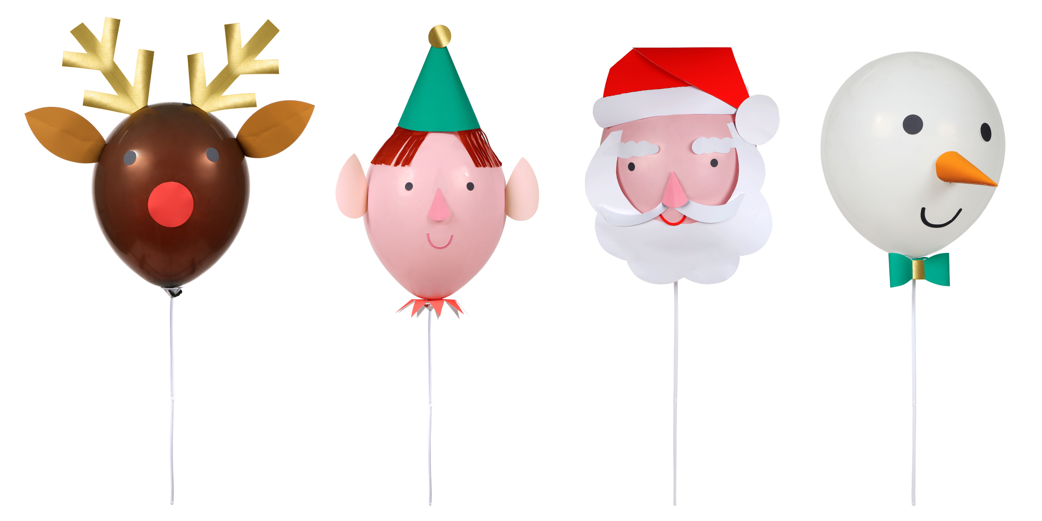 Weihnachtscharaktere