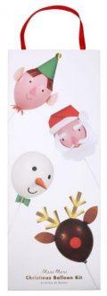 Weihnachtsballon Set