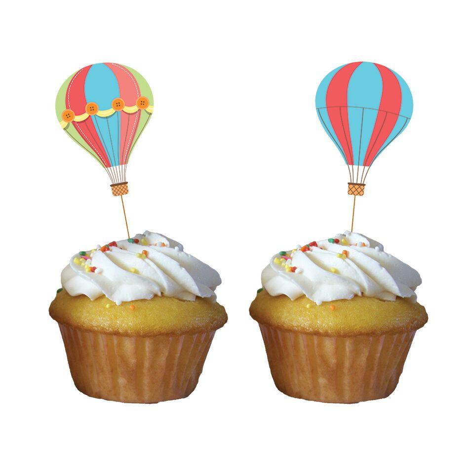 Muffin und cupcake dekoration up ballon party party do - Dekoration muffins ...