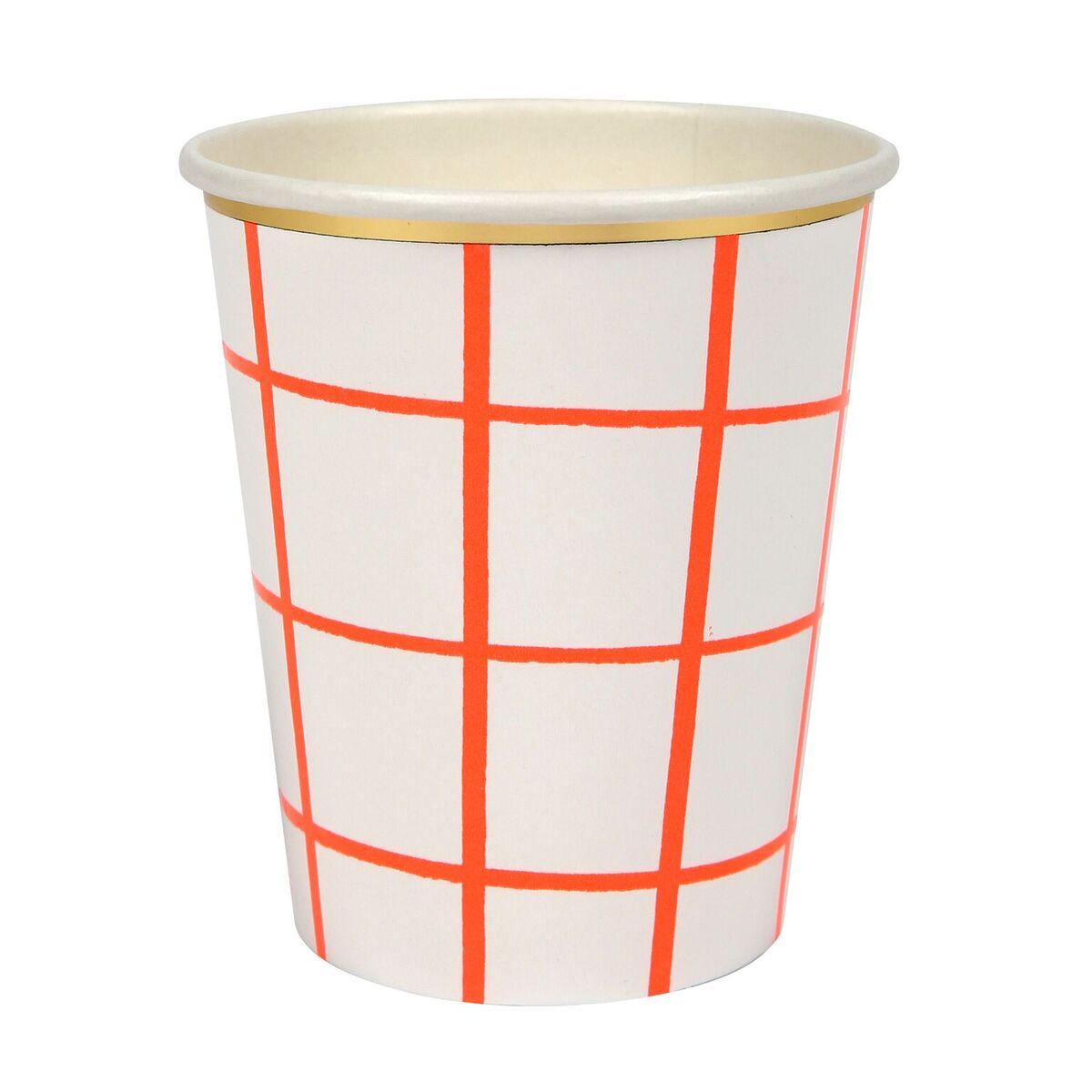Coral Grid Cup