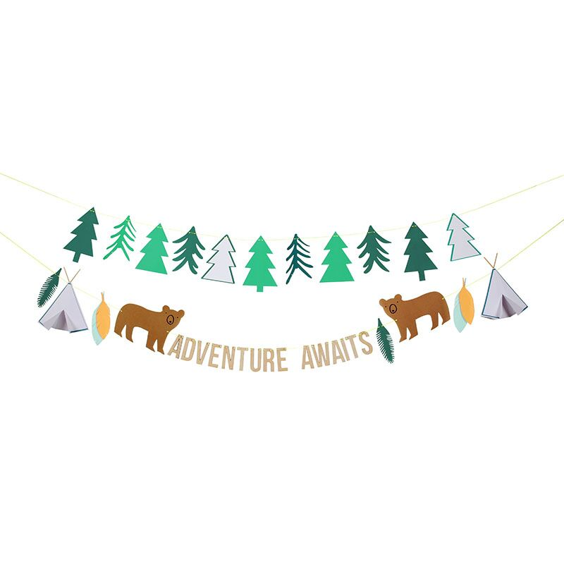 Meri-Meri-Girlande-Abenteuer-Zelten