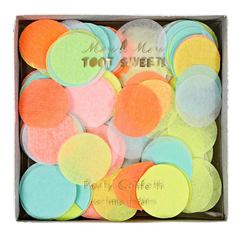 Neon-Papierkonfetti-meri-meri