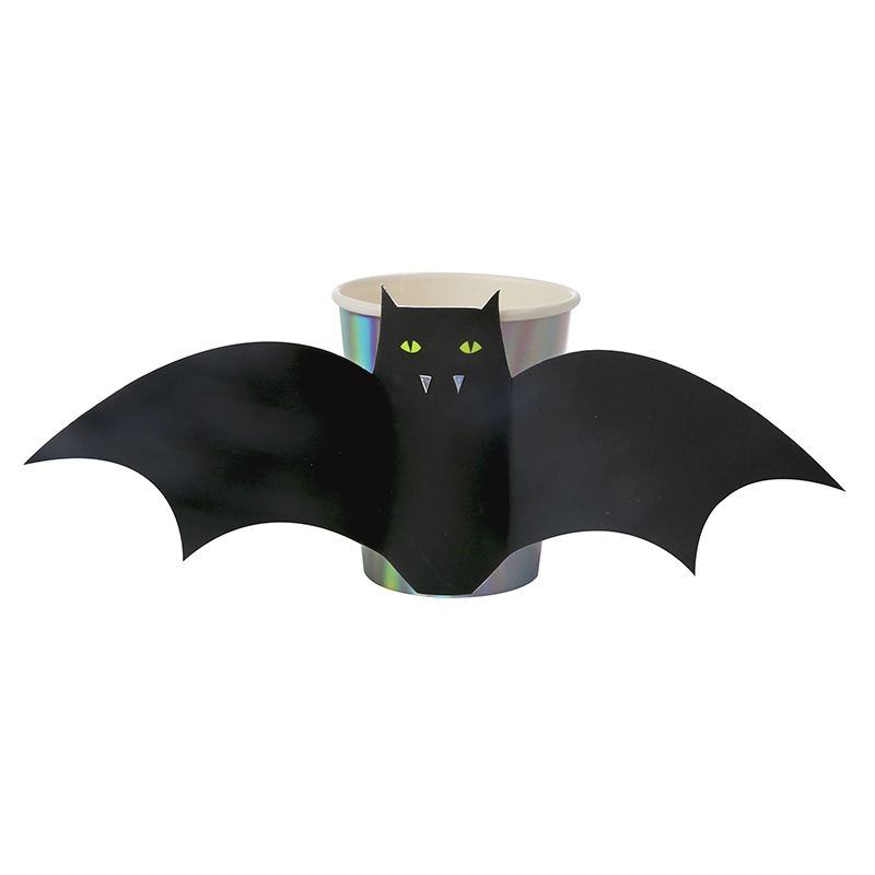 Halloween Fledermaus Becher