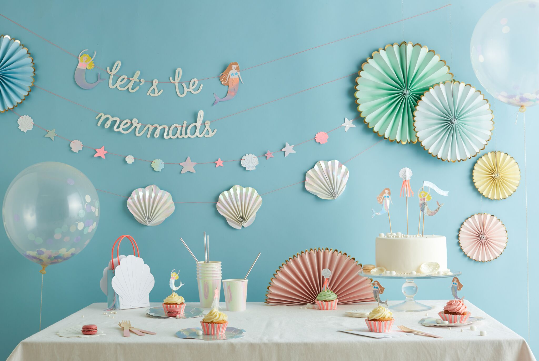 Let's party like a mermaid!