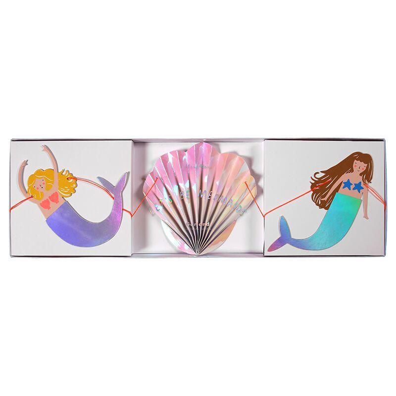 Meri-meri-Meerjungfrauen-Girlande-Set