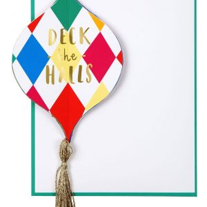 Weihnachtskarte Ornament