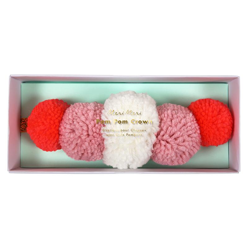 pompom-haarband