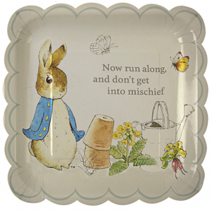 Meri Meri Peter Rabbit Pappteller